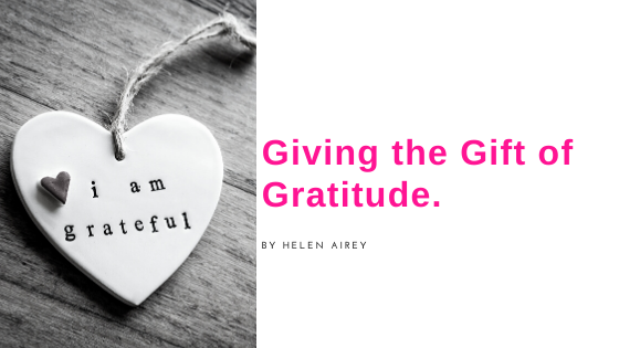 Giving the Gift of Gratitude