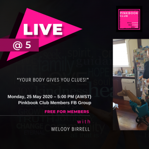 Live @ 5 with Melody Birrell Part 2 – When you have to just stop!