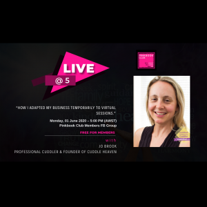 Live @ 5 with Jo Brook – Proffessional Cuddler Part 2
