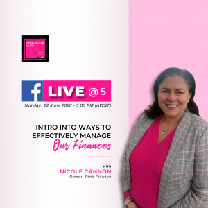 Live @ 5 with Nicole Cannon – Pink Finance