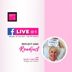 Live @ 5 with Nazli Gwynn (Blogger & Teacher)