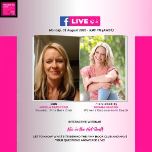 Interactive Webinar: Live @ 5 with Nic & Brianna