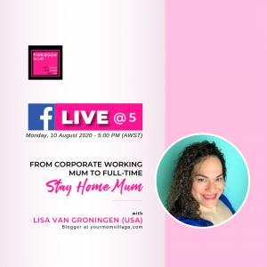 Live @ 5 with Lisa Van Groningen (USA)