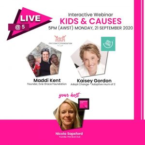Interactive Webinar – Kids and causes