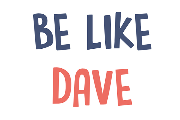 Are expectations robbing your joy?  #BeLikeDave